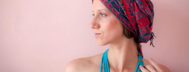Красно-синий шарф (Эфиопия)