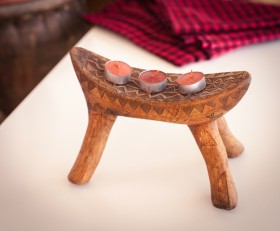 Candle holder (Bene tribe)