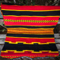 Striped black and yellow rug (Dorze tribe)