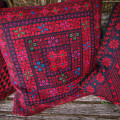 Pillow with hand embroidery 'Arab tribes motive'