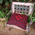 """Подушка с ручной вышивкой """"Арабские мотивы"""""""