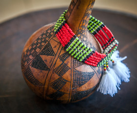'Rhythm of the Afar Tribe' Shoulder Bracelet