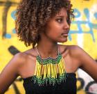 Ожерелье «Ливень в лесу Эфиопии»