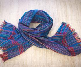 Полосатый синий шарф (племя Дорзе)