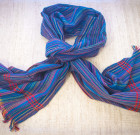 Striped blue scarf (Dorze tribe)