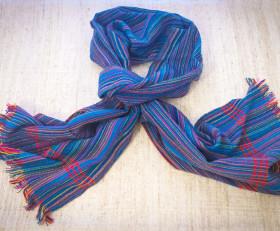 Striped blue scarf (Dorze tribe)