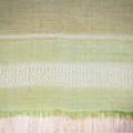 Горчично-салатовый хлопковый шарф (племя Дорзе)