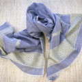 Pale lilac cotton scarf