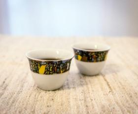 Classic Ethiopian coffee cups
