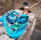 """Silk scarf """"Ottoman dream"""""""