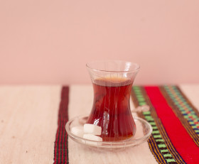 Turkish classical tea glasses