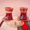 Turkish red glass
